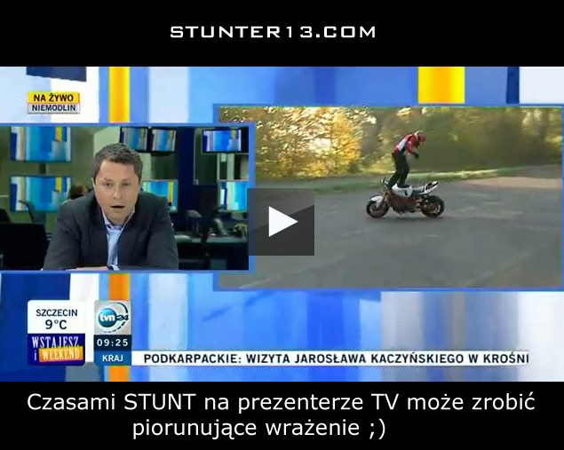 stunter 13 tvn24